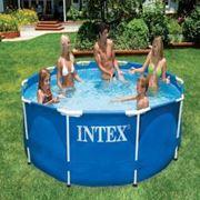 Каркасный сборно разборный бассейн Metal Frame Pool Intex 54424 фото