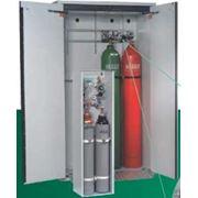 Шкафы для хранения газовых баллонов фото