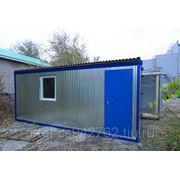 Блок-контейнер,строительная бытовка, мобильное здание фото