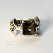 Перстень с раухтопазом КСЗ 034 фото