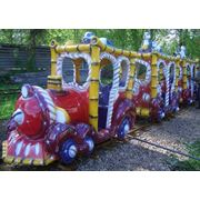 Аттракцион Поезд Медвежонок фото