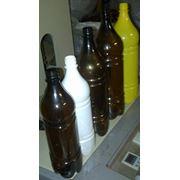 Бутылка ПЭТ с колпачком фото