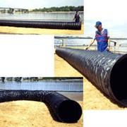 Трубы вентиляционные гибкие шахтные армированные с проволочной спиралью фото