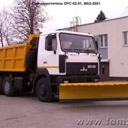Снегоочиститель ОРС-02-01, МАЗ-5551 фото