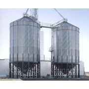 Силосы для хранения зерна с конусным днищем