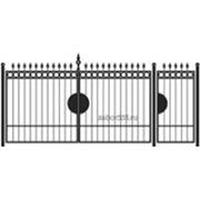 Ворота и калитка: Классика, модель 002 фото