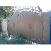 Кованые ворота (элит) фото