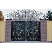 Кованые ворота 2 фото