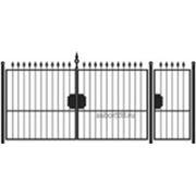 Ворота и калитка: Классика, модель 004 фото