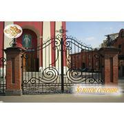 Кованые ворота 5 фото