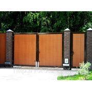 Ворота распашные 4440*2200 фото