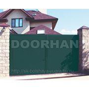 Комплект распашных ворот (цвет зеленый) ш4430*в2200 фото