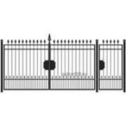 Ворота и калитка: Классика, модель 003 фото