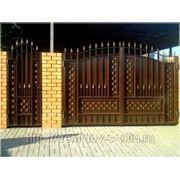 Ворота Боярские-сетка фото