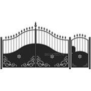 Ворота и калитка: Элит, модель 006 фото
