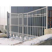 Металлические сварные ворота Арт. СВ-08 фото