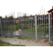 Металлические сварные ворота Арт. СВ-10 фото