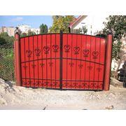 Кованые ворота (норма) фото