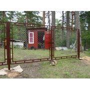 Металлические сварные ворота Арт. СВ-11 фото