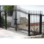 Металлические сварные ворота Арт. СВ-12 фото