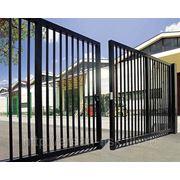 Металлические сварные ворота Арт. СВ-15 фото