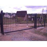 Кованые ворота Арт. КВ-02 фото