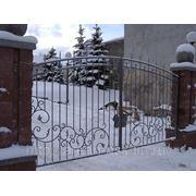 Кованые ворота Арт. КВ-03 фото