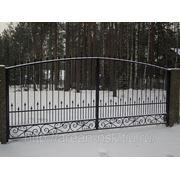 Кованые ворота Арт. КВ-06 фото