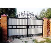 Кованые ворота Арт. КВ-07 фото