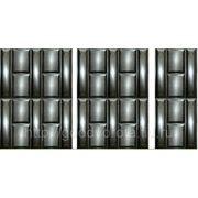 Ворота филенчатые,с профлиста, гладкие,филенка металлическая. фото
