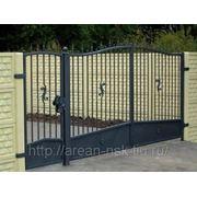 Кованые ворота Арт. КВ-14 фото