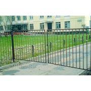 Металлические сварные ворота Арт. СВ-03 фото