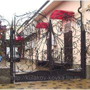 Ворота кружевные фото