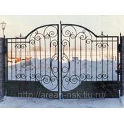 Кованые ворота Арт. КВ-11 фото