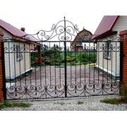 Кованые ворота Арт. КВ-12 фото
