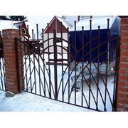 Ворота сварные. фото