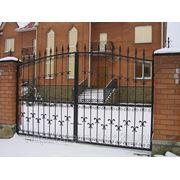 Кованые ворота Арт. КВ-09 фото