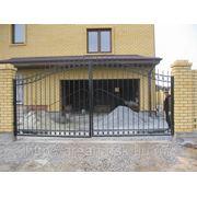 Кованые ворота Арт. КВ-10 фото