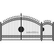 Ворота и калитка: Арка, модель 001 фото