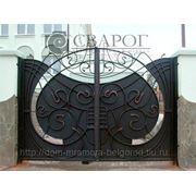 Кованые ворота 13 фото