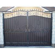 Кованые ворота 15 фото