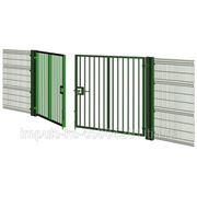 Распашные ворота PROM BARS для панельных систем ограждения фото