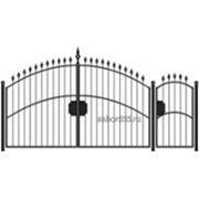 Ворота и калитка: Арка, модель 004 фото