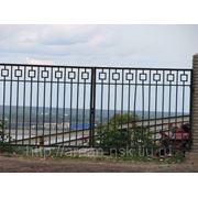 Металлические сварные ворота Арт. СВ-05 фото