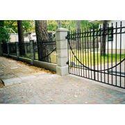 Металлические сварные ворота Арт. СВ-06 фото