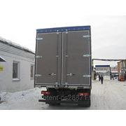 Ворота распашные, тенты, пологи на грузовой автотранспорт фото