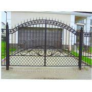 Кованые ворота Арт. КВ-13 фото