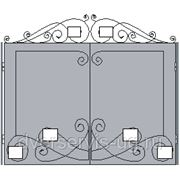 Кованые ворота №45 фото