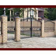 Ворота 12 фото