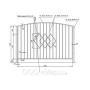 Кованный забор фото